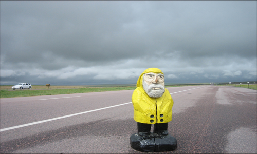 Captain Ahab of Ahab's Adventures in Murdo South Dakota 2009