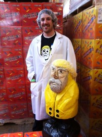 Captain Ahab of Ahab's Adventures visiting Smarties 2011