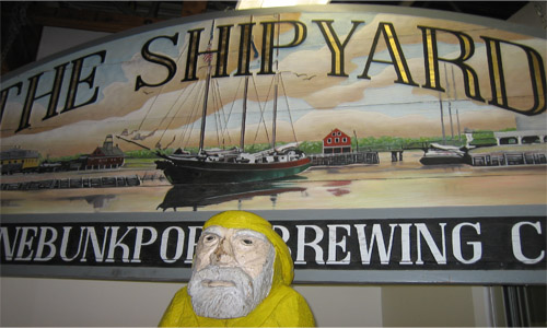 The Shipyard Kennebunkport Brewing Company Maine 2008