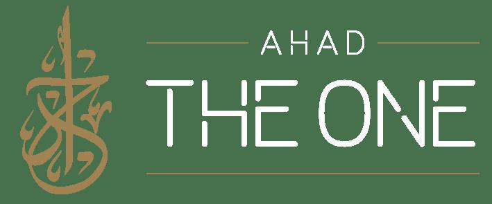 120x50-weiße-Schrift Islamische Kleidung - AHAD THE ONE