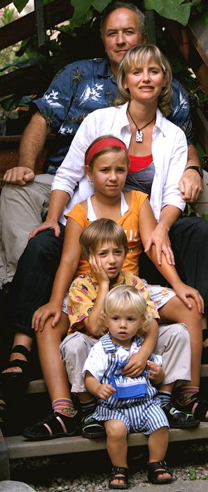 Familie Häberli Treppe schmal