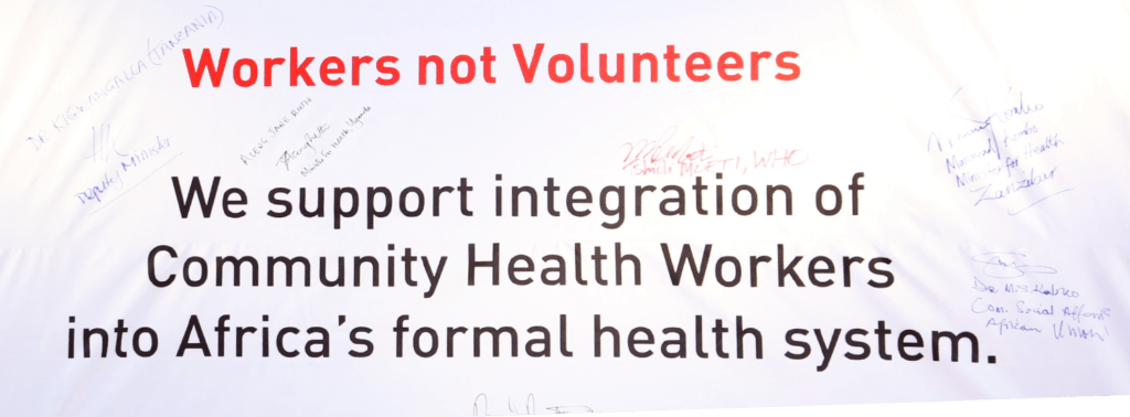Community Health Workers take Centre-stage at AHAIC Opening Ceremony