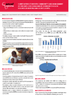 Client Satisfaction with Community Case Management of Uncomplicated Malaria by Community Health Volunteers in Bungoma County, Kenya