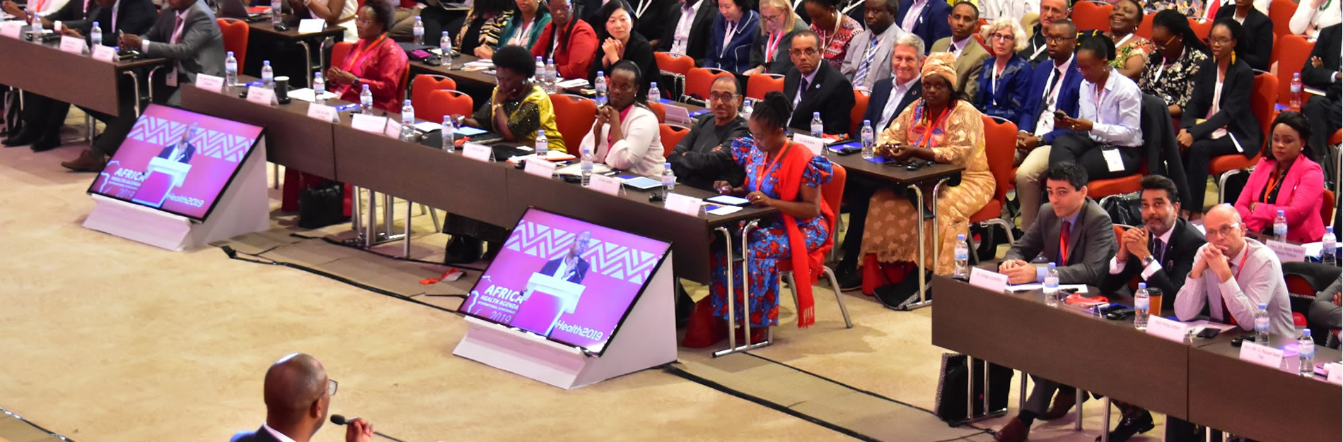 Africa Health 2019 Conference in Kigali, Rwanda Dr Githinji Gitahi