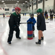 Dallas Try Blind Hockey Event