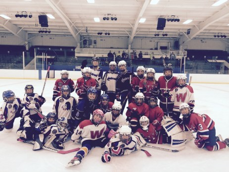 Glenbrook Girls help celebrate World Girls Ice Hockey Weekend