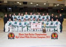 2015 White Varsity Champions - New Trier White