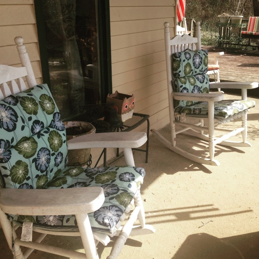 front porch rockers