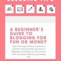 Blogging Tips for the Curious