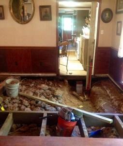 rotten floor joist repair