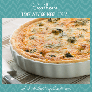 southern thanksgiving menu ideas
