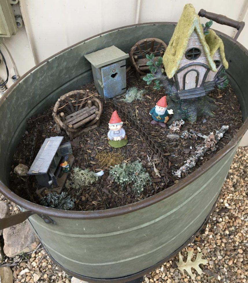 gnome village garden