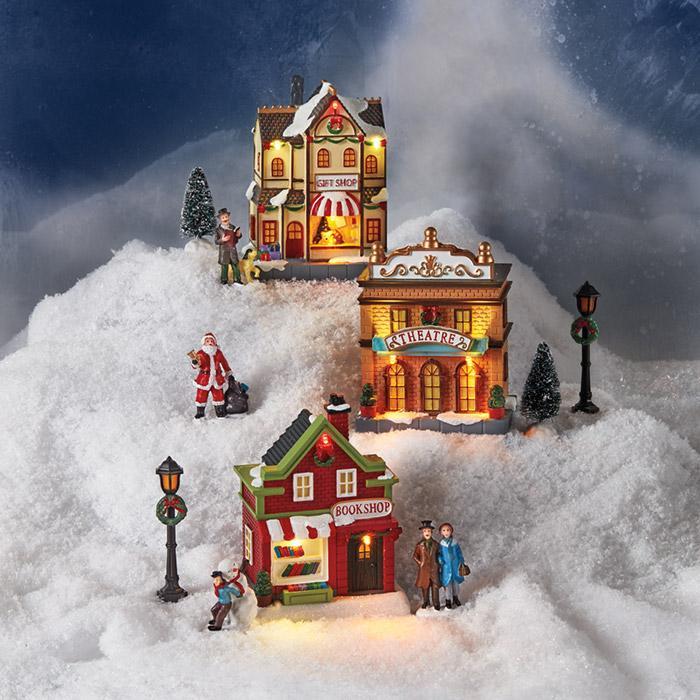 Avon Christmas Villages
