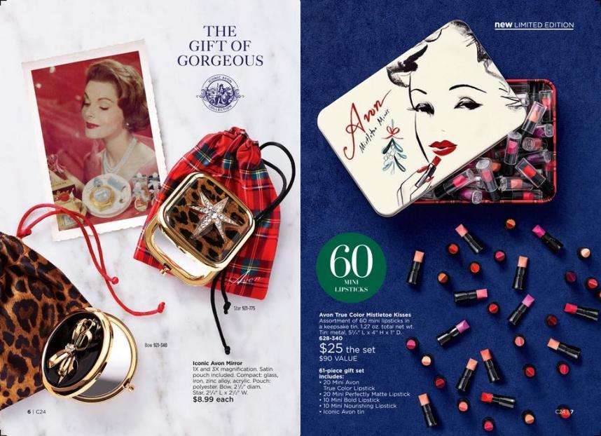 Iconic Avon collection
