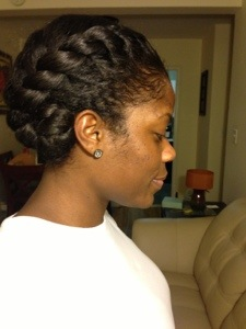Two Strand Flat Twist A Hair Story
