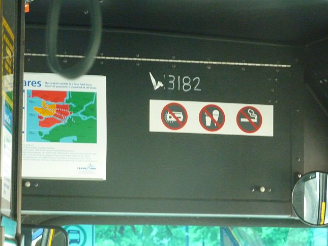 Bus Driver phones on bike thief 2