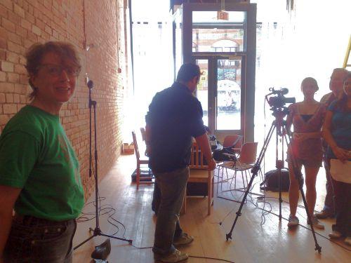 Kaleidoscope Filming 8