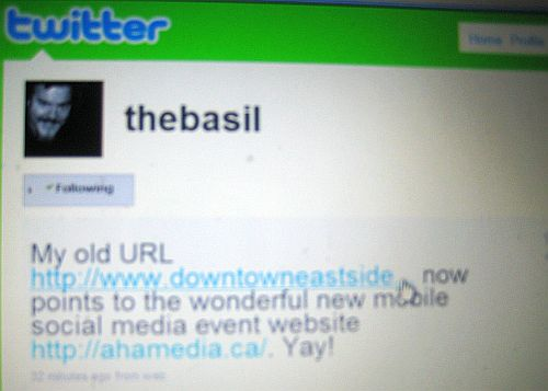 The Basil link point