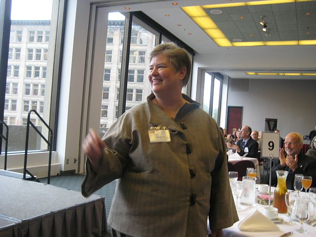 32 SFU Luncheon for Dr Cheryl Geisler, New Dean of Communication, Art & Technology
