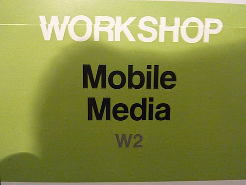 Mobile Media Workshop