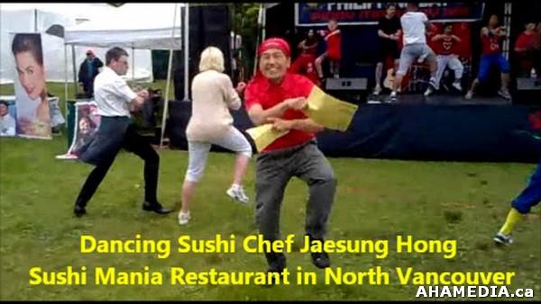 dancing sushi chef jaesung