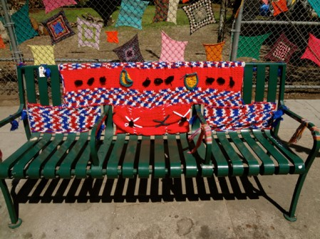 Bench and Squares