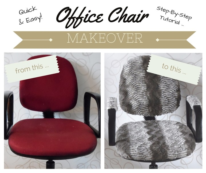 office chair upcycling tutorial