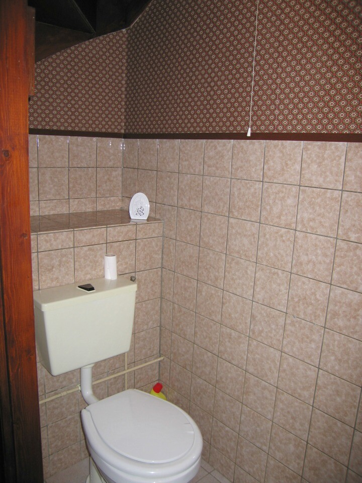 Downstairs Toilet Before Makeover