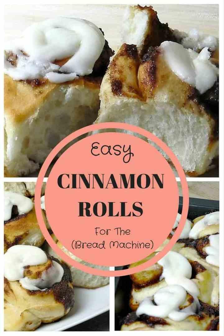 Cinnamon Rolls - For The Bread Maker