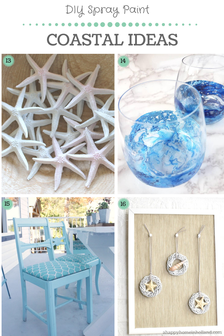 20 Beautiful DIY Spray Paint Furniture & Home Decor Upcyling Ideas
