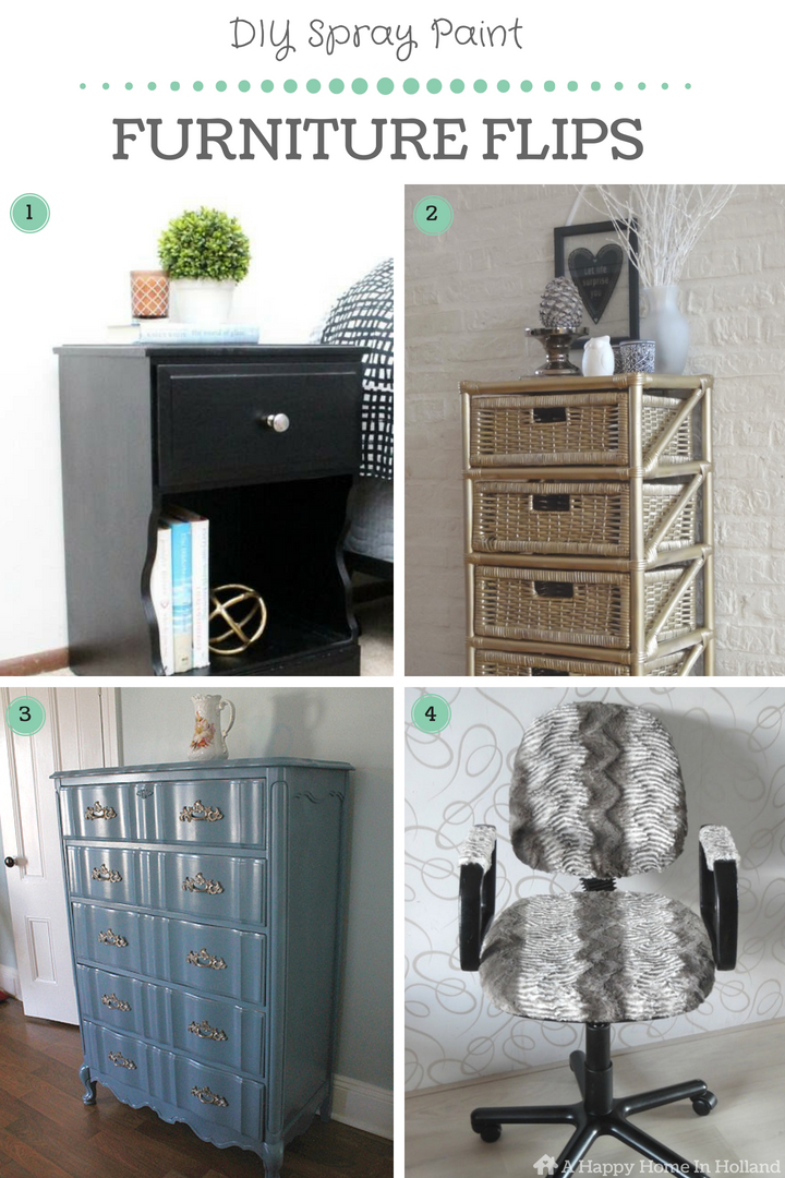 20 Beautiful Diy Spray Paint Furniture Home Decor Upcyling Ideas