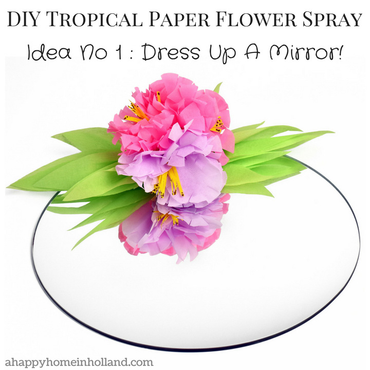 How to make paper flowers step by step easy tutorial teenagers room diy craft decor idea jazz up mirrors and pin boards with these pretty mightylinksfo