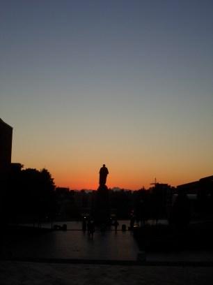 George Washington statue at UW