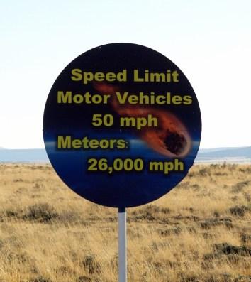 Speed Limits Strictly Enforced