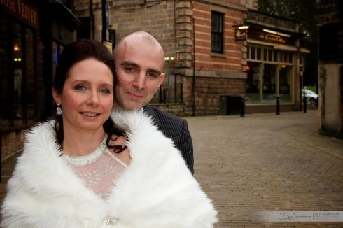 Bride and Groom in Harrogate