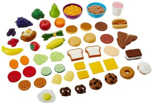Learning Resources New Sprouts Complete Play Food Set, Assorted
