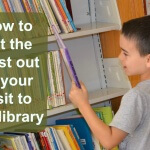 Using the library with kids a can be stressful, but there are tricks that can make it easy. These are the tricks we use to make it work for our family.