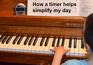I use a timer often throughout my day to simplify things with my kids. Find out different ways to use a timer to make your days easier.