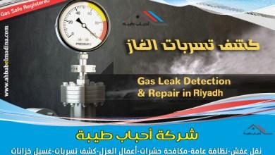 شركة كشف تسربات الغاز بالرياض عن طريق جهاز الكشف عن تسرب الغاز