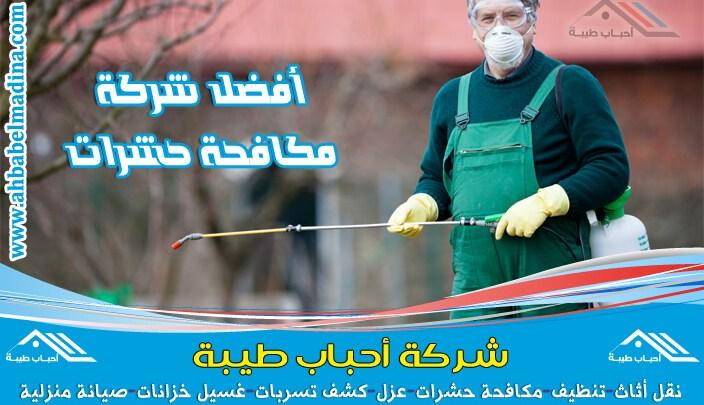 شركة رش مبيدات بالاحساء للقضاء على الحشرات تستخدم أقوى المبيدات الفتاكة لتخلصكم من الحشرات