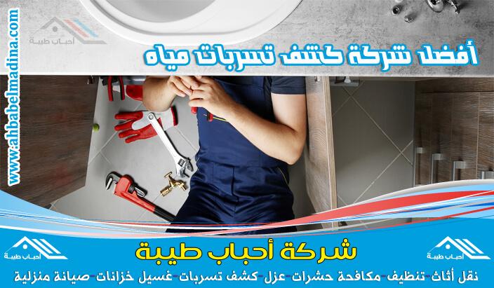 شركة كشف تسربات المياه بمكة لديها أحدث جهاز كشف تسربات المياه ويتم حل المشكلة بدون تكسير
