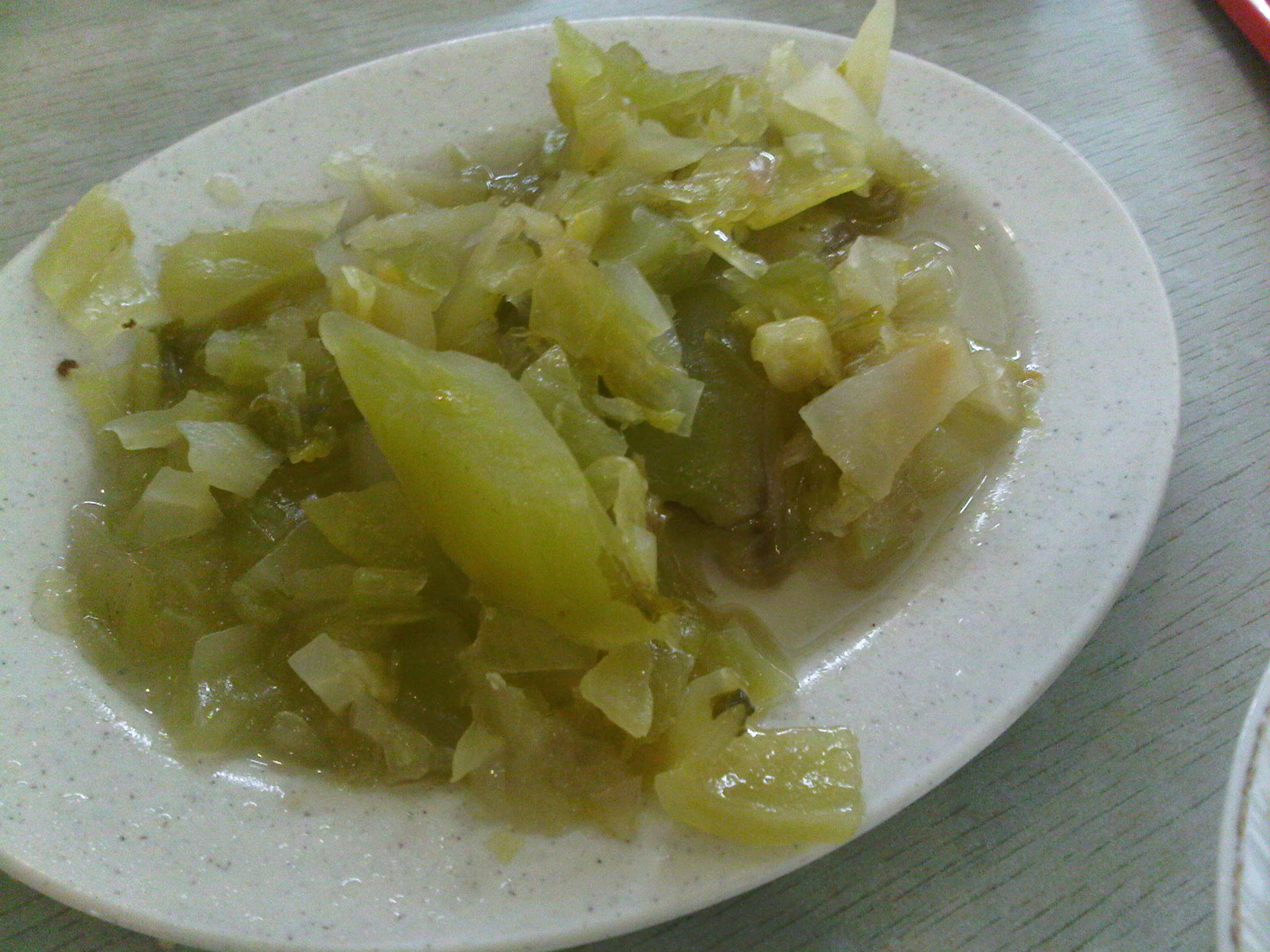 kiam chai (salted veggies)