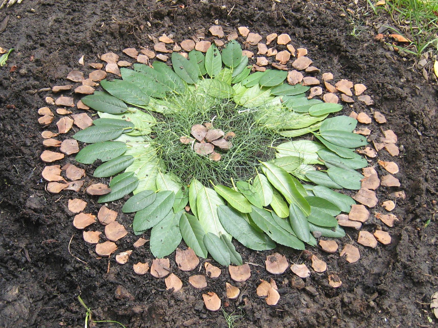 Nature Art PnP for Thanksgiving Break  AHB Community School
