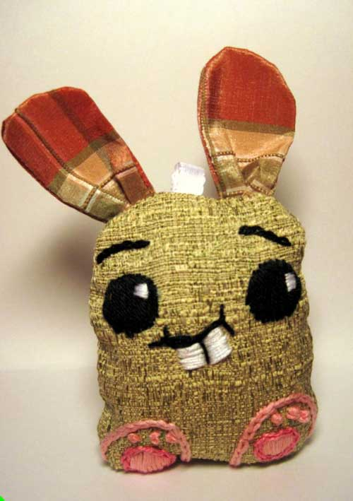 Solo DIY Embroidered Bunny w/pattern