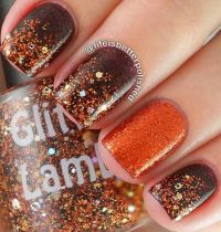 Fall Inspired Nail Art - Ahbsessed