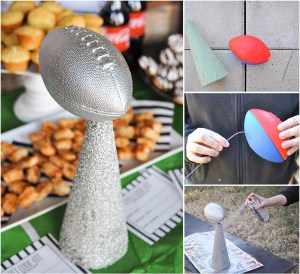 DIY Football Trophy