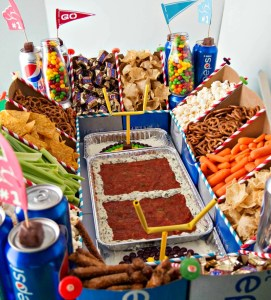 The Ultimate Football Snack Stadium
