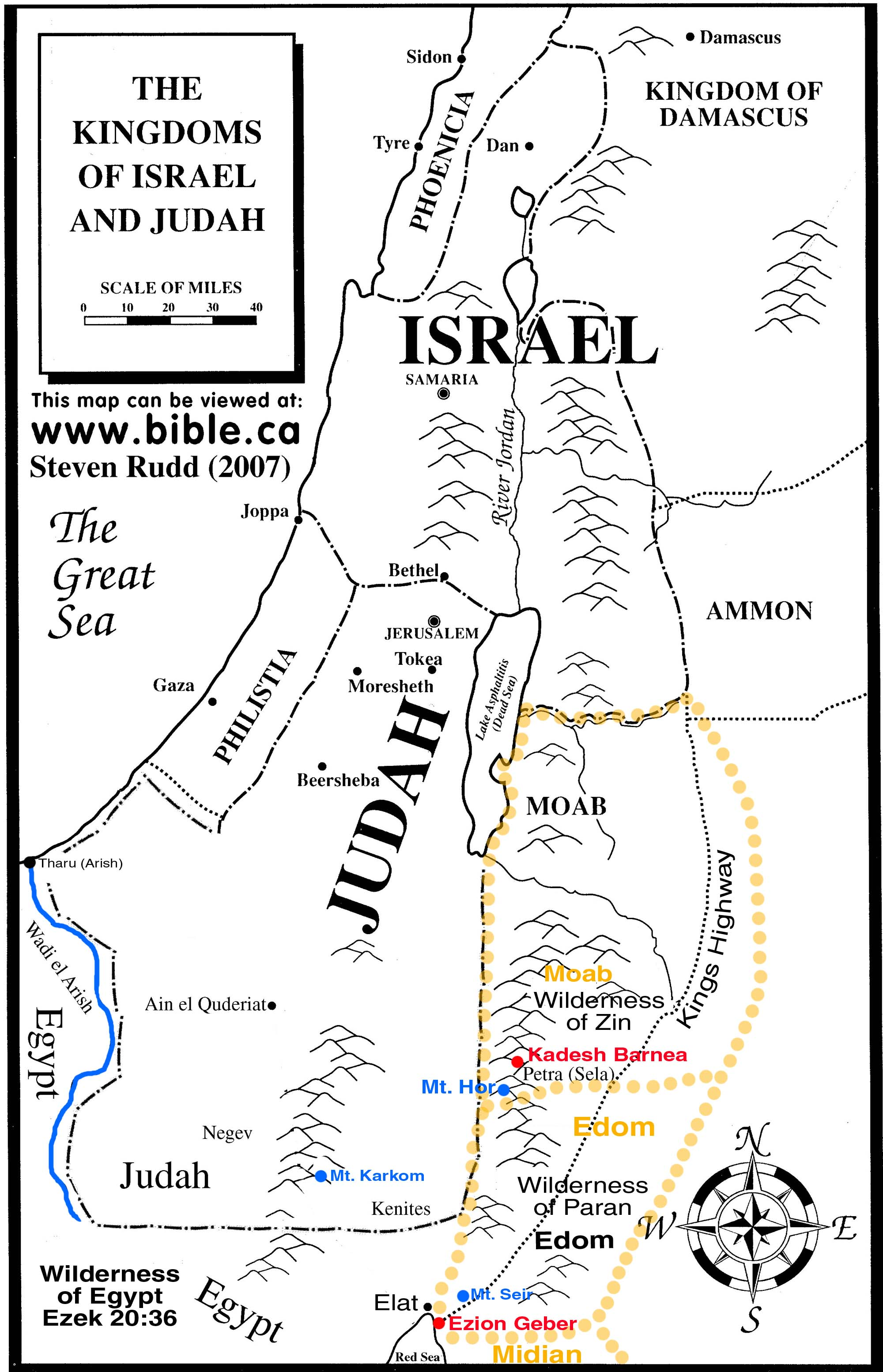 Biblical Maps Old Testament Jonah Pictures To Pin On