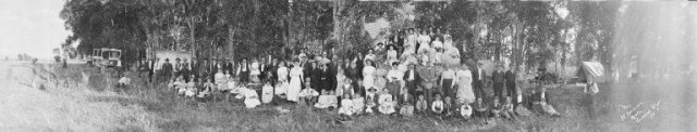 German Picnic, possibly 1890s, Ludwig Svenson Collection. UW American Heritage Center.