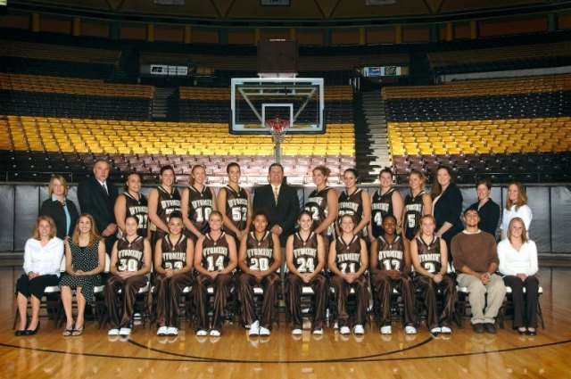 2006-2007 University of Wyoming Cowgirl basketball team.  University of Wyoming Intercollegiate Athletics Records, Collection No. 515001.